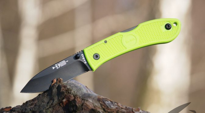 Ka-Bar Dozier Folding Hunter – gotowy na atak zombie