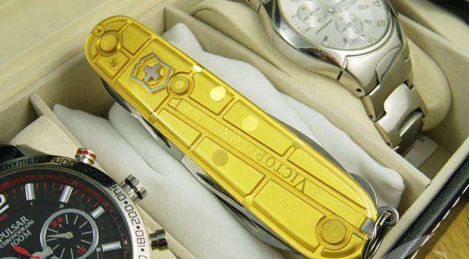 Victorinox Climber Gold – biżuteria olimpijska